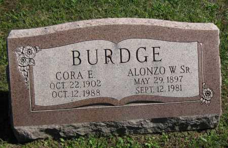 BURDGE, ALONZO W. - Juniata County, Pennsylvania   ALONZO W. BURDGE - Pennsylvania Gravestone Photos