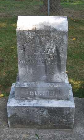 BURNS, DAVID PORTER - Juniata County, Pennsylvania | DAVID PORTER BURNS - Pennsylvania Gravestone Photos