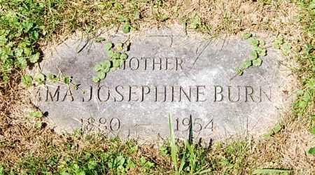 BURNS, EMMA JOSEPHINE - Juniata County, Pennsylvania   EMMA JOSEPHINE BURNS - Pennsylvania Gravestone Photos