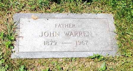 BURNS, JOHN WARREN - Juniata County, Pennsylvania | JOHN WARREN BURNS - Pennsylvania Gravestone Photos