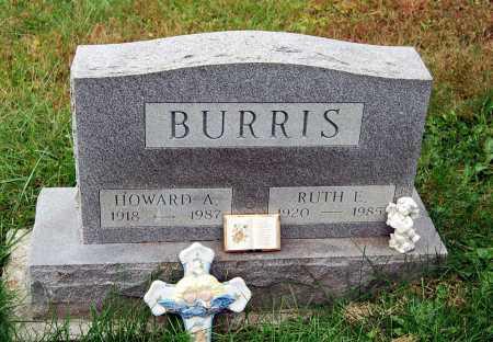 BURRIS, HOWARD A. - Juniata County, Pennsylvania | HOWARD A. BURRIS - Pennsylvania Gravestone Photos