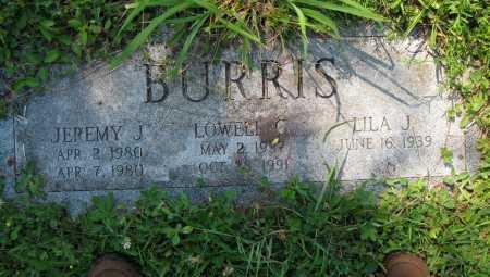 BURRIS, LOWELL C. - Juniata County, Pennsylvania   LOWELL C. BURRIS - Pennsylvania Gravestone Photos