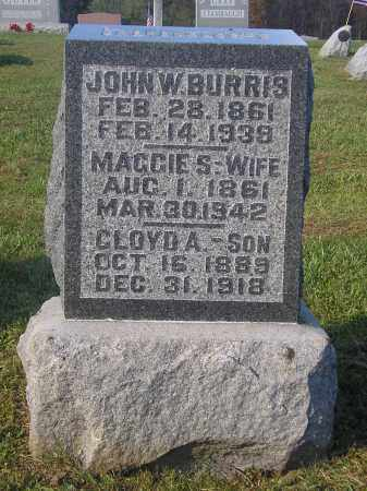"BURRIS, MARGARET ""MAGGIE"" S. - Juniata County, Pennsylvania | MARGARET ""MAGGIE"" S. BURRIS - Pennsylvania Gravestone Photos"