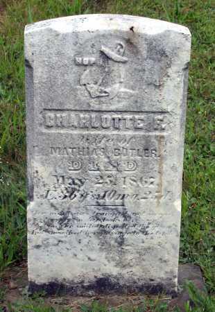 BUTLER, CHARLOTTE F. - Juniata County, Pennsylvania | CHARLOTTE F. BUTLER - Pennsylvania Gravestone Photos