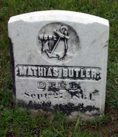 BUTLER, MATHIAS - Juniata County, Pennsylvania | MATHIAS BUTLER - Pennsylvania Gravestone Photos