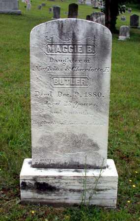 BUTLER, MAGGIE B. - Juniata County, Pennsylvania | MAGGIE B. BUTLER - Pennsylvania Gravestone Photos