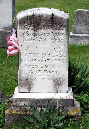 BYERS, BARBARA CATHERINE - Juniata County, Pennsylvania | BARBARA CATHERINE BYERS - Pennsylvania Gravestone Photos
