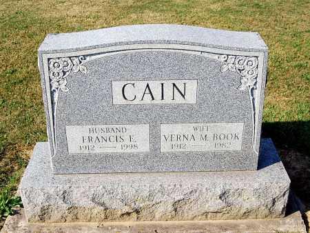 BOOK CAIN, VERNA MARY - Juniata County, Pennsylvania | VERNA MARY BOOK CAIN - Pennsylvania Gravestone Photos