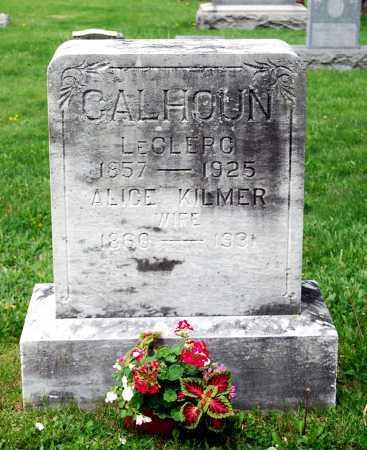 CALHOUN, LECLERC - Juniata County, Pennsylvania | LECLERC CALHOUN - Pennsylvania Gravestone Photos