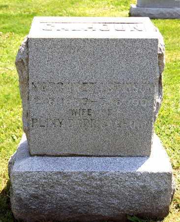 CALHOUN, MARGARET J. - Juniata County, Pennsylvania | MARGARET J. CALHOUN - Pennsylvania Gravestone Photos