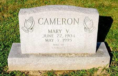 CAMERON, MARY V. - Juniata County, Pennsylvania   MARY V. CAMERON - Pennsylvania Gravestone Photos