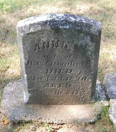 CAMPBELL, ANNA G. - Juniata County, Pennsylvania | ANNA G. CAMPBELL - Pennsylvania Gravestone Photos