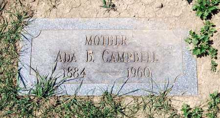 CAMPBELL, ADA B. - Juniata County, Pennsylvania   ADA B. CAMPBELL - Pennsylvania Gravestone Photos