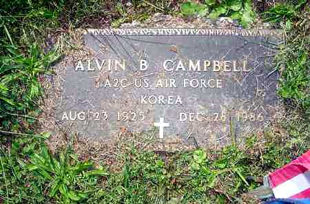 CAMPBELL, ALVIN B. - Juniata County, Pennsylvania   ALVIN B. CAMPBELL - Pennsylvania Gravestone Photos