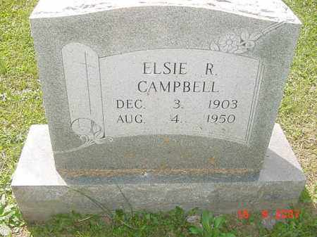 CAMPBELL, ELSIE R. - Juniata County, Pennsylvania | ELSIE R. CAMPBELL - Pennsylvania Gravestone Photos