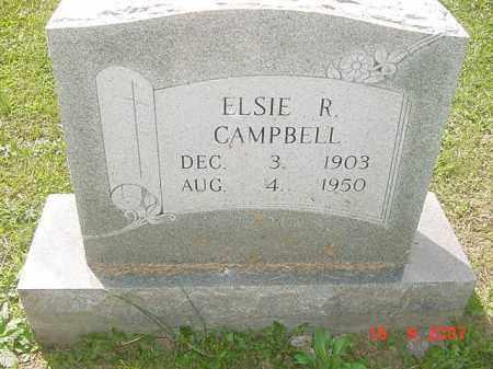 CAMPBELL, ELSIE R. - Juniata County, Pennsylvania   ELSIE R. CAMPBELL - Pennsylvania Gravestone Photos