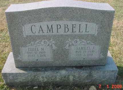 CAMPBELL, ETHEL M. - Juniata County, Pennsylvania | ETHEL M. CAMPBELL - Pennsylvania Gravestone Photos