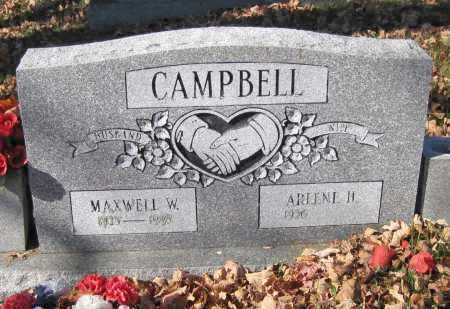 CAMPBELL, MAXWELL W. - Juniata County, Pennsylvania | MAXWELL W. CAMPBELL - Pennsylvania Gravestone Photos