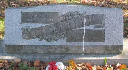 CAMPBELL, MARIE H. - Juniata County, Pennsylvania | MARIE H. CAMPBELL - Pennsylvania Gravestone Photos