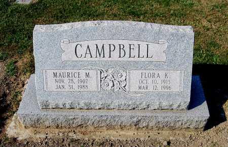 CAMPBELL, MAURICE M. - Juniata County, Pennsylvania | MAURICE M. CAMPBELL - Pennsylvania Gravestone Photos