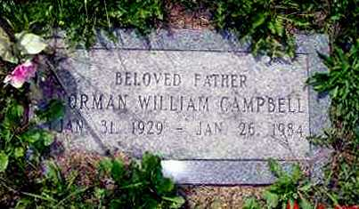 CAMPBELL, NORMAN WILLIAM - Juniata County, Pennsylvania | NORMAN WILLIAM CAMPBELL - Pennsylvania Gravestone Photos