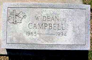CAMPBELL, W. DEAN - Juniata County, Pennsylvania | W. DEAN CAMPBELL - Pennsylvania Gravestone Photos