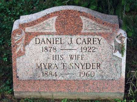 CAREY, MYRA T. - Juniata County, Pennsylvania | MYRA T. CAREY - Pennsylvania Gravestone Photos