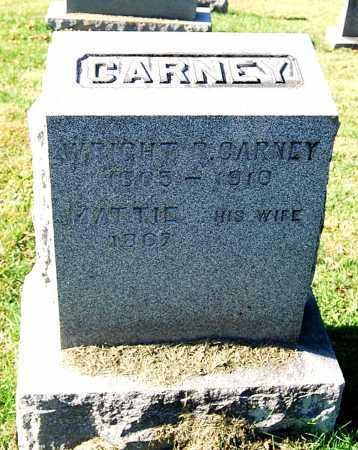 CARNEY, WRIGHT R. - Juniata County, Pennsylvania | WRIGHT R. CARNEY - Pennsylvania Gravestone Photos