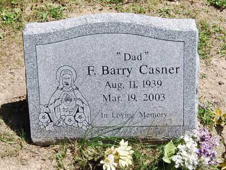 CASNER, FREDERICK BARRY - Juniata County, Pennsylvania   FREDERICK BARRY CASNER - Pennsylvania Gravestone Photos