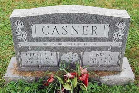 CASNER, HENRY C. - Juniata County, Pennsylvania | HENRY C. CASNER - Pennsylvania Gravestone Photos