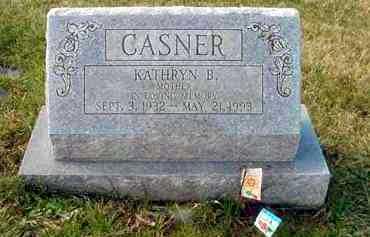 CASNER, KATHRYN B. - Juniata County, Pennsylvania | KATHRYN B. CASNER - Pennsylvania Gravestone Photos
