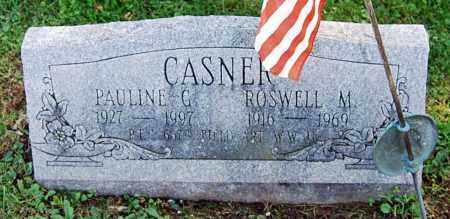 CASNER, PAULINE G. - Juniata County, Pennsylvania | PAULINE G. CASNER - Pennsylvania Gravestone Photos