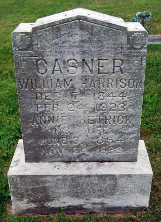CASNER, WILLIAM HARRISON - Juniata County, Pennsylvania | WILLIAM HARRISON CASNER - Pennsylvania Gravestone Photos