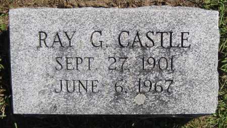 CASTLE, RAY G. - Juniata County, Pennsylvania | RAY G. CASTLE - Pennsylvania Gravestone Photos