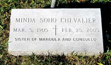 CHEVALIER, MINDA SOHO - Juniata County, Pennsylvania | MINDA SOHO CHEVALIER - Pennsylvania Gravestone Photos