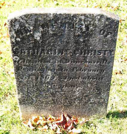CHRISTY, CATHARINE - Juniata County, Pennsylvania | CATHARINE CHRISTY - Pennsylvania Gravestone Photos