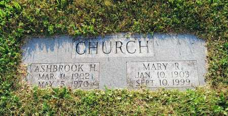 CHURCH, ASHBROOK H. - Juniata County, Pennsylvania | ASHBROOK H. CHURCH - Pennsylvania Gravestone Photos