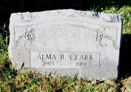 CLARK, ALMA B. - Juniata County, Pennsylvania | ALMA B. CLARK - Pennsylvania Gravestone Photos