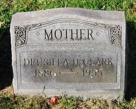 CLARK, DRUSILLA H. - Juniata County, Pennsylvania | DRUSILLA H. CLARK - Pennsylvania Gravestone Photos