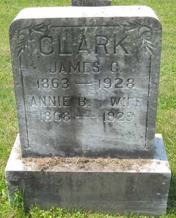 CLARK, ANNIE B. - Juniata County, Pennsylvania   ANNIE B. CLARK - Pennsylvania Gravestone Photos