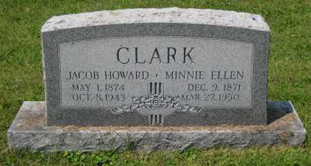 CLARK, MINNIE ELLEN - Juniata County, Pennsylvania   MINNIE ELLEN CLARK - Pennsylvania Gravestone Photos