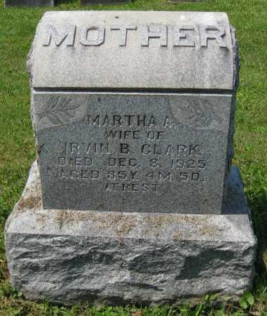 CLARK, MARTHA A. - Juniata County, Pennsylvania | MARTHA A. CLARK - Pennsylvania Gravestone Photos