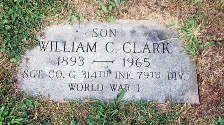 """CLARK, WILLIAM C. """"RED"""" - Juniata County, Pennsylvania   WILLIAM C. """"RED"""" CLARK - Pennsylvania Gravestone Photos"""