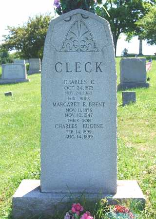 BRENT CLECK, MARGARET E. - Juniata County, Pennsylvania | MARGARET E. BRENT CLECK - Pennsylvania Gravestone Photos