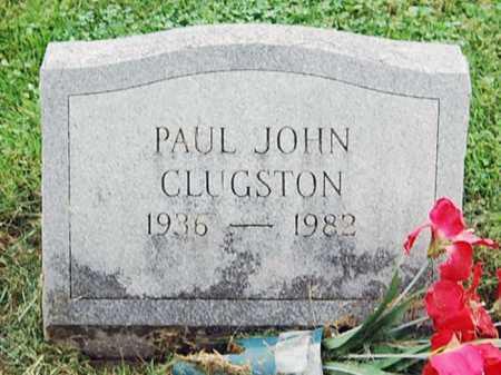 CLUGSTON, PAUL JOHN - Juniata County, Pennsylvania | PAUL JOHN CLUGSTON - Pennsylvania Gravestone Photos
