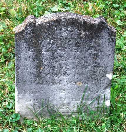 CODER, CLARA - Juniata County, Pennsylvania   CLARA CODER - Pennsylvania Gravestone Photos