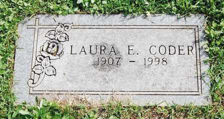 CODER, LAURA E. - Juniata County, Pennsylvania | LAURA E. CODER - Pennsylvania Gravestone Photos