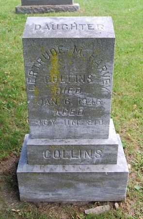 COLLINS, GERTRUDE M. - Juniata County, Pennsylvania | GERTRUDE M. COLLINS - Pennsylvania Gravestone Photos