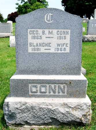 CONN, GEORGE B. M. - Juniata County, Pennsylvania | GEORGE B. M. CONN - Pennsylvania Gravestone Photos