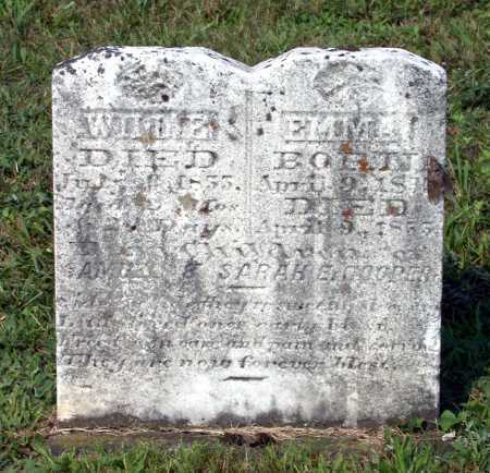 COOPER, WILLIE - Juniata County, Pennsylvania | WILLIE COOPER - Pennsylvania Gravestone Photos